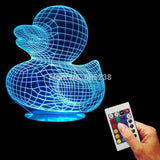 Duck 3D LED LAMP