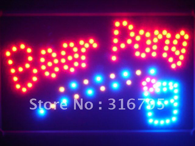 Beer Pong Get Your Ball Wet Led Bar Sign -  - TheLedHeroes