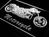 Motorcycle Bike Sales Services LED Sign - White - TheLedHeroes
