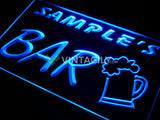 Home Brew Bar Beer Mug Name Personalized Custom LED Sign