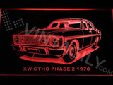 Ford XW GTHO Phase 2 1970 LED Neon Sign Electrical - Red - TheLedHeroes