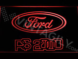 FREE Ford RS 2000 LED Sign - Red - TheLedHeroes