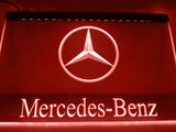 FREE Mercedes Benz 2 LED Sign - Red - TheLedHeroes