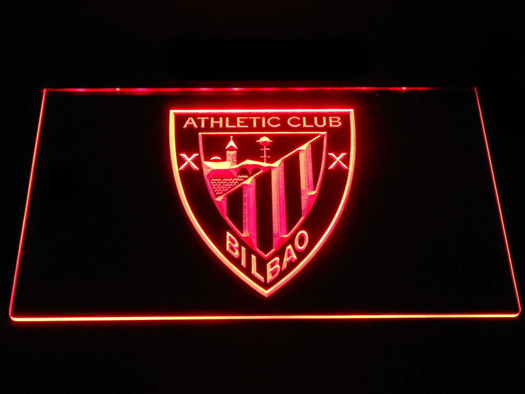 Athletic Bilbao LED Neon Sign USB - Red - TheLedHeroes