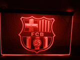 FREE FC Barcelona LED Sign - Red - TheLedHeroes