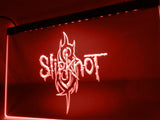 FREE Slipknot Band Logo Rock n Roll LED Sign - Red - TheLedHeroes