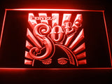 FREE Sol Cerveza LED Sign - Red - TheLedHeroes