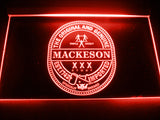 FREE Mackeson Stout LED Sign - Red - TheLedHeroes