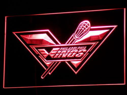 Philadelphia Wings LED Neon Sign USB - Red - TheLedHeroes