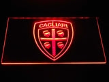 FREE Cagliari Calcio LED Sign - Red - TheLedHeroes