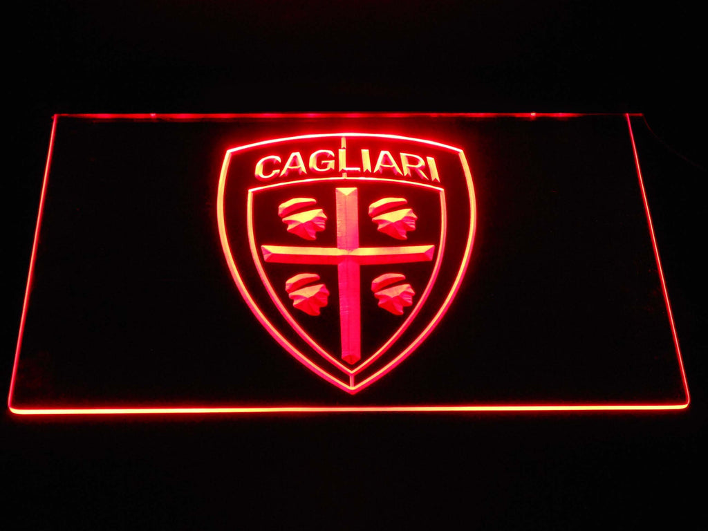 Cagliari Calcio LED Neon Sign Electrical - Red - TheLedHeroes