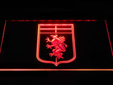 FREE Genoa C.F.C. LED Sign - Red - TheLedHeroes