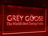 FREE Grey Goose Vodka LED Sign - Red - TheLedHeroes