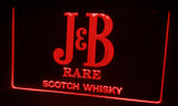 FREE J&B Rare Scotch Whisky LED Sign - Red - TheLedHeroes