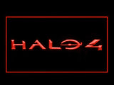 FREE Halo 4 LED Sign - Red - TheLedHeroes