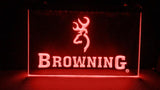 Browning Firearms LED Neon Sign Electrical - Red - TheLedHeroes