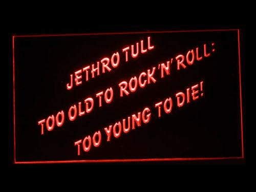Jethro Tull (2) LED Neon Sign USB - Red - TheLedHeroes