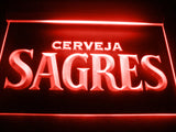FREE Sagres Cerveja LED Sign - Red - TheLedHeroes