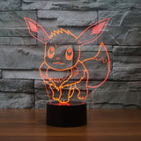 Eevee Pokemon 3D LED LAMP -  - TheLedHeroes