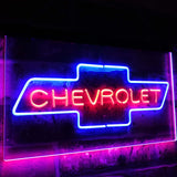 Chevrolet Dual Color Led Sign - Normal Size (12x8.5in) - TheLedHeroes