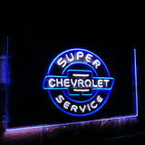 Chevrolet Super Service Dual Color Led Sign - Normal Size (12x8.5in) - TheLedHeroes