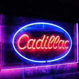 Cadillac Dual Color Led Sign - Normal Size (12x8.5in) - TheLedHeroes