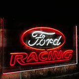 Ford Racing Dual Color Led Sign - Normal Size (12x8.5in) - TheLedHeroes