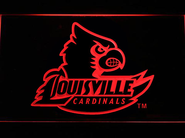 FREE Louisville Cardinals LED Sign - Red - TheLedHeroes