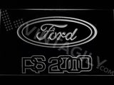 FREE Ford RS 2000 LED Sign - White - TheLedHeroes