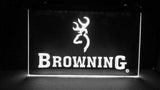Browning Firearms LED Neon Sign Electrical - White - TheLedHeroes