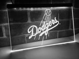 Los Angeles Dodgers LED Neon Sign USB - White - TheLedHeroes
