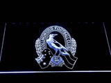 Collingwood Football Club LED Neon Sign USB - White - TheLedHeroes