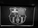 FREE FC Barcelona LED Sign - White - TheLedHeroes