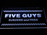 Five Guys LED Neon Sign USB - Green - TheLedHeroes