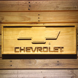 Chevrolet Wooden Sign -  - TheLedHeroes