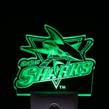 San Jose Sharks Night LED Sign
