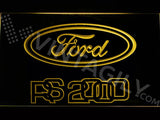 FREE Ford RS 2000 LED Sign - Yellow - TheLedHeroes