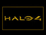 FREE Halo 4 LED Sign - Yellow - TheLedHeroes