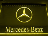 FREE Mercedes Benz 2 LED Sign - Yellow - TheLedHeroes