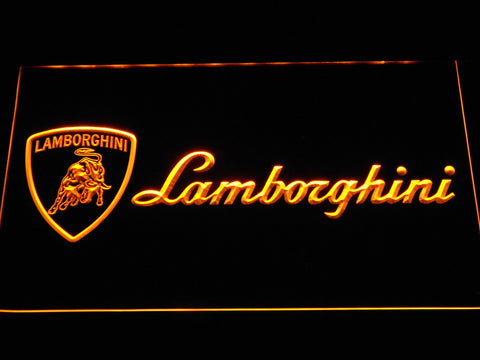 Lamborghini 4 LED Sign