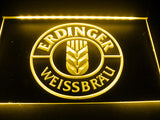 FREE Erdinger Weissbräu LED Sign - Yellow - TheLedHeroes
