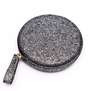 The Roundie Roo- Galaxy Glitter - Policy Handbags