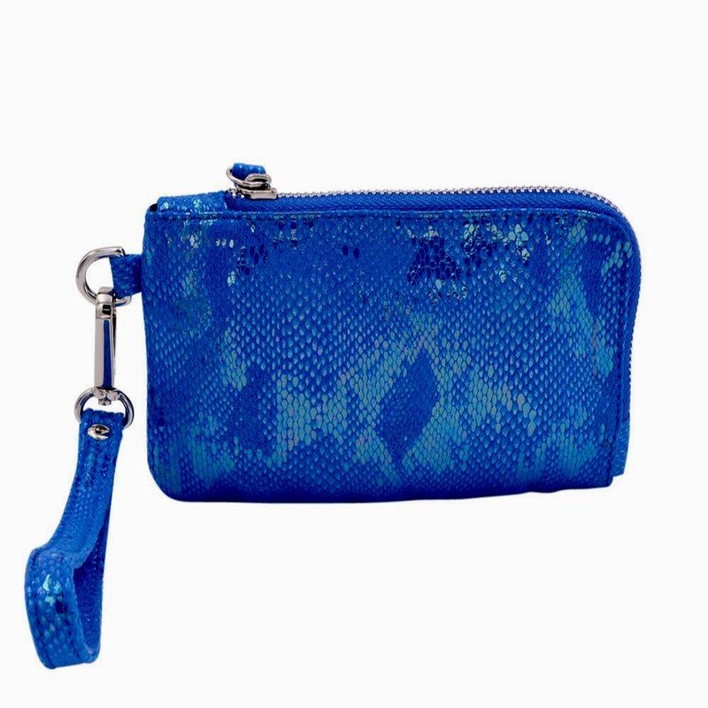 The Roo Pouch- Electric Blue - POLICY Handbags Policy Bag