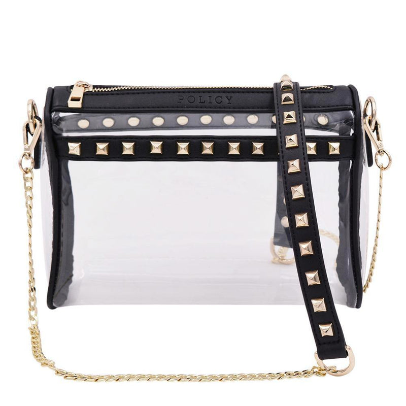 The Rockstar- Black+Gold - Policy Handbags