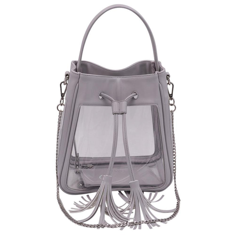 The Bare Bucket- Elephant Gray - Policy Handbags