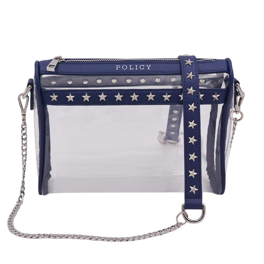 PREORDER | The RockSTAR | Star Studded Navy | POLICY Handbags | POLICY Handbags