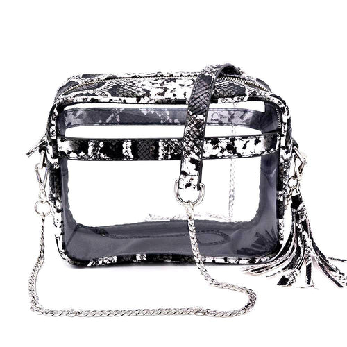 The Bare Cave- Python - POLICY Handbags Policy Bag