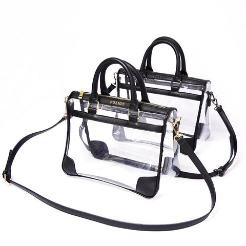 The Collette- Black - POLICY Handbags Policy Bag