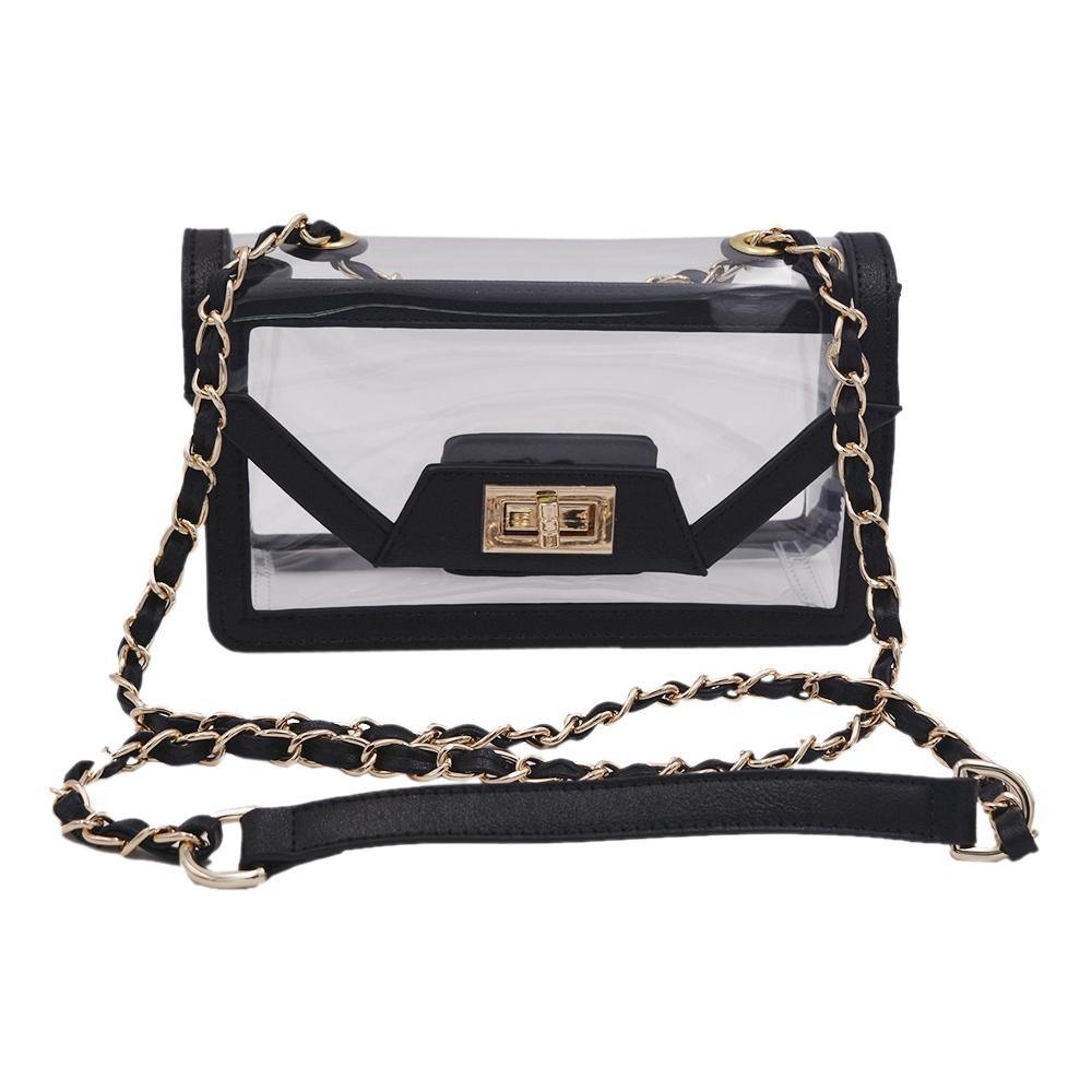 The Mini Cher | Onyx & Gold POLICY Handbags