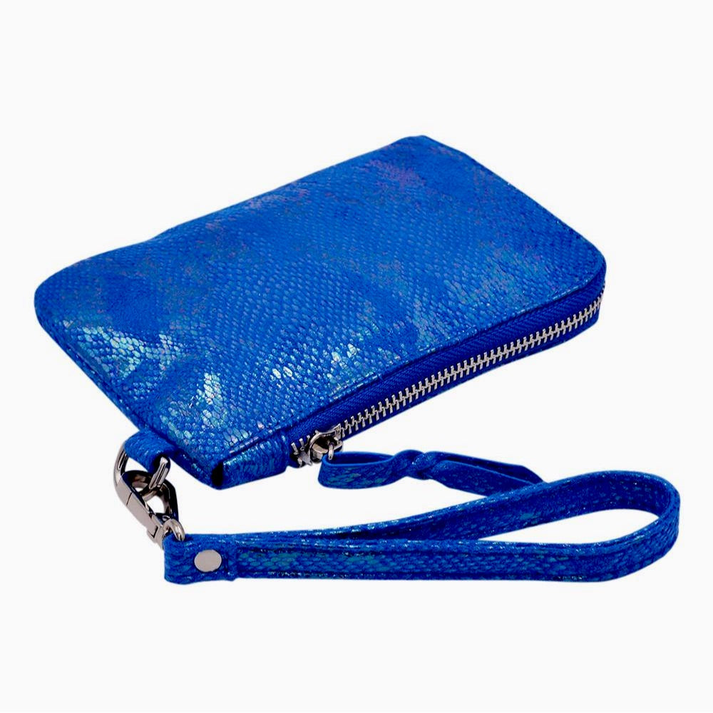 The Roo Pouch | Electric Blue POLICY Handbags